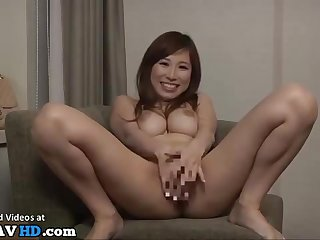 Japanese Busty Wife Laughs After Unexpected Cum Load
