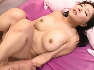 Mosaic Busty Nurse Giving Handjob Blowjob For Guy On T