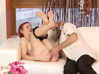 Teen girls squirting Unexpected practice with an older