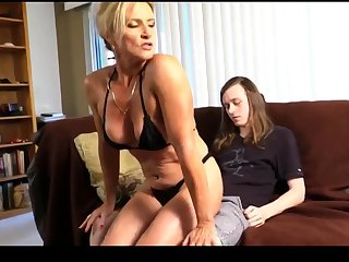 Cougar Amanda Pleased Her stepSon