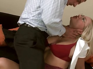 Having Fun With Nasty Blonde Wife